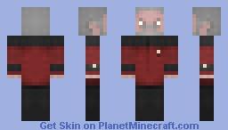 Admiral Riker / ST TNG Minecraft Skin