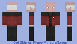 Captain Picard  /  Captain's Away Jacket, Minecraft Skin