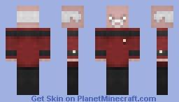 Admiral Picard Minecraft Skin