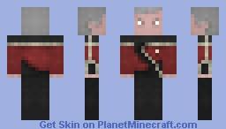 ST TNG Rear Admiral Uniform 2364 Minecraft Skin