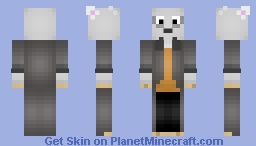 Goat In A Trench Coat {Requested} Minecraft Skin