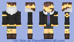 Flowerfell Frisk || Undertale AU Minecraft Skin