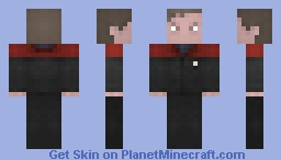 Tom Paris Minecraft Skin