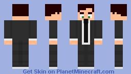 Agent Scorpion Minecraft Skin