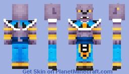 Lord Beerus the Destroyer - Dragonball Super Minecraft Skin