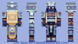 Blue Yoroi - Japanese Samurai Armour Minecraft Skin