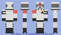 Hλlf-Life 2 | Combine Elite Minecraft Skin