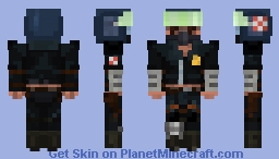 Mad Max Mel Gibson 1979 Minecraft Skin
