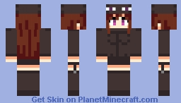 Andr the Endergirl Minecraft Skin