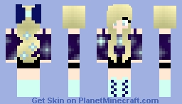Galaxy girl Minecraft