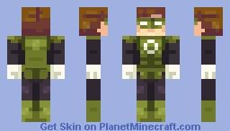 Green Lantern // DC Superhero series Minecraft Skin