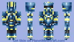 Tracker - Halo 4 Minecraft Skin