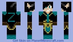 High Elf Zekter Minecraft Skin