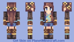 Sunflower Day - ST w/ louier Minecraft Skin