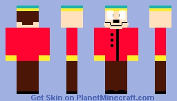 Eric Cartman -South Park- Better in 3D! (Explanation in desc) Minecraft Skin