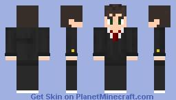 Dude in suit Minecraft Skin