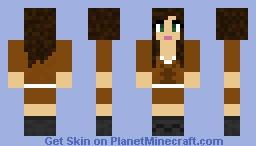 Medieval girl Minecraft Skin