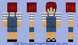 Overalls Ollie | New Shading! Minecraft Skin