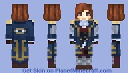 Elizabeth Highmore Minecraft Skin