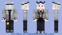 """""""Quicksilver"""" X-Men Apocalypse Minecraft Skin"""