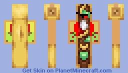 Derp Taco Minecraft Skin