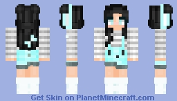 Bunny :: üntrüthfüllÿ Minecraft Skin