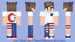 AaronMoon ✨ 4th Of July ✨ Enjoy! xx Minecraft Skin