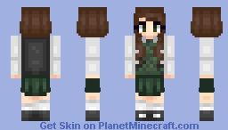 🍑School Uniform🍑 Minecraft Skin