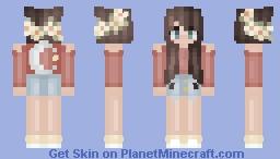 SarahMoon x2 // Tumblr Summer 2k16 // Minecraft Skin
