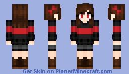 SwapFell Chara Minecraft Skin