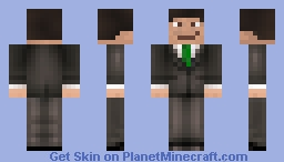 TVR_ Suit Skin (Green) Minecraft Skin