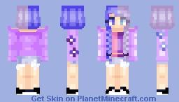 For my BIF _WhisperSilence_ Minecraft Skin