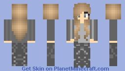 Abnegation Tris Prior Minecraft Skin