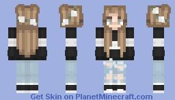 kinda loving this ♡ Minecraft Skin