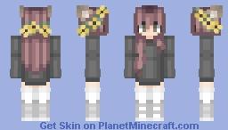 just a simple skin! ♡ Minecraft Skin
