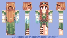 MιѕѕNιgнтOωℓ Another Elf (Oblivion and Demly's Contest) Minecraft Skin