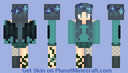 The Water Angel (Oblivion/Demly Contest) Minecraft Skin