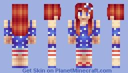 July 4th Minecraft Skin