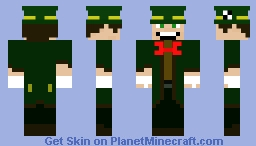 the mad hatter Minecraft Skin