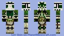 Lieutenant Spade 223rd Battalion STAR WARS III Minecraft Skin