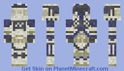 501st Clone Gunner STAR WARS III Minecraft Skin