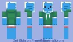 Fish boi 2 minecraft skin for Minecraft fish skin