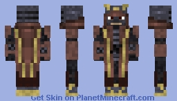 Samurai (Fuedal Japan and East Asian Skin Contest!!) Minecraft