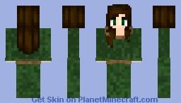 Ella Enchanted Minecraft Skin