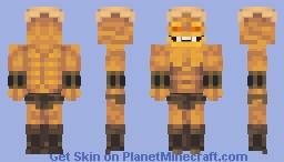 Deamu - The Protector of the Underworld Minecraft Skin