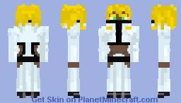 Tier Harribel - Bleach Minecraft Skin