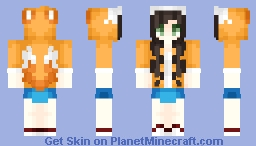 Tails Inspired/Jacket ~ Sonic? (Idk What He's Specifically From ~.~) -=+=- Game Monday -=+=- Minecraft Skin