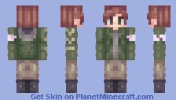 "OC: Jack ""Teddy"" Anderson Minecraft Skin"