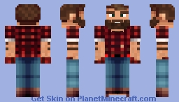 Lumberjack Minecraft Skin