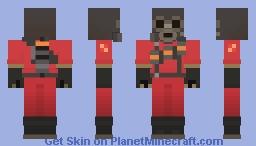 TF2 - Pyro Minecraft Skin